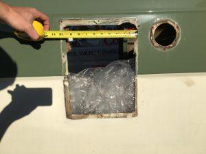 radiator hole