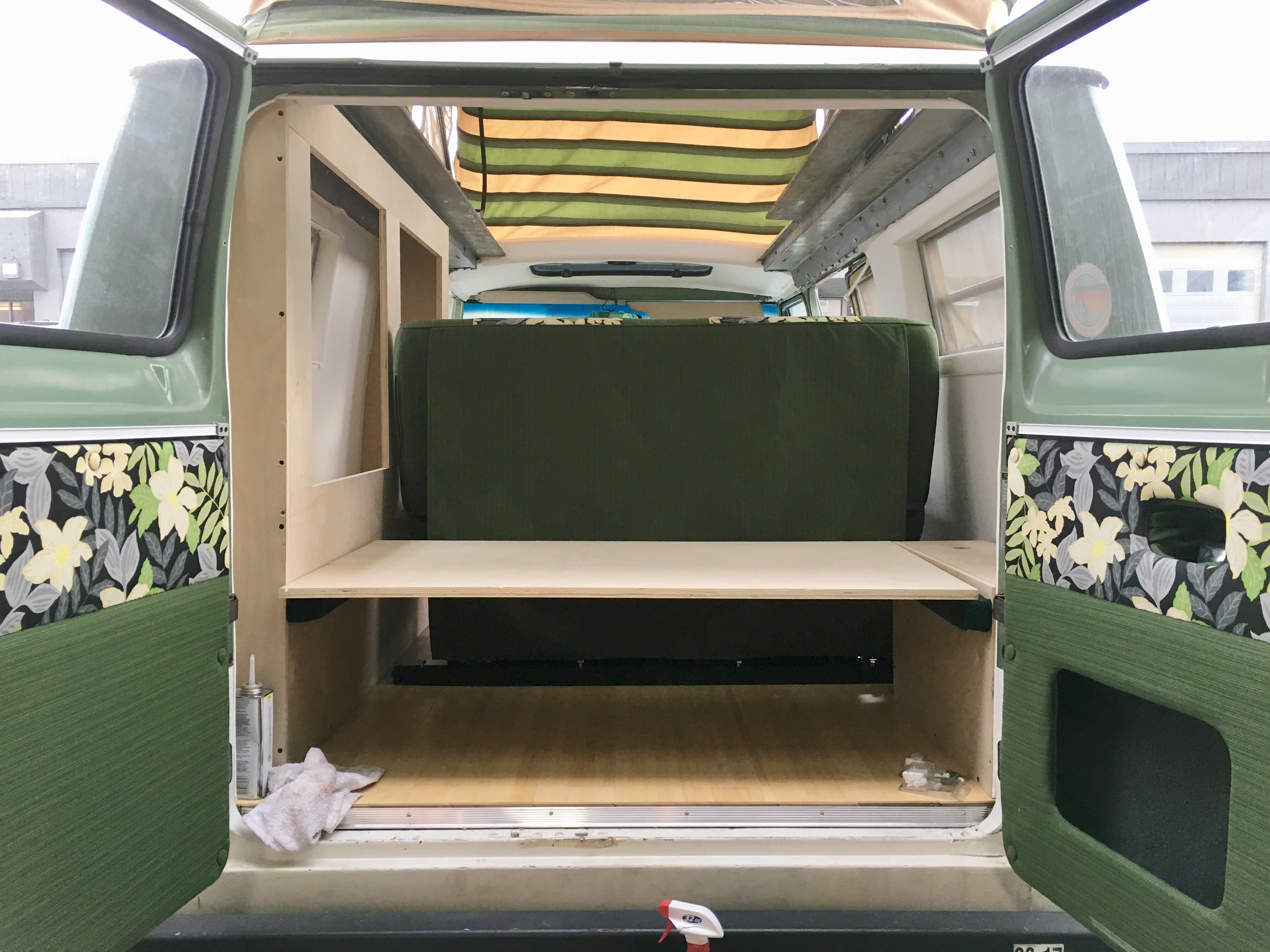 rear bed platform